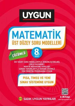 Sadık Uygun Yayınları 8. Sınıf Matematik Üst Düzey Soru Modelleri