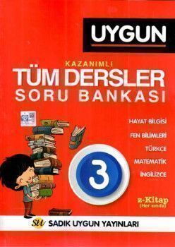 Sadık Uygun Yayınları 3. Sınıf Kazanımlı Tüm Dersler Soru Bankası