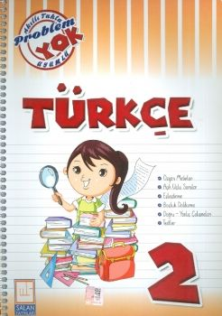Salan Yayınları 2. Sınıf Türkçe Problem Yok Akıllı Tahta Uyumlu