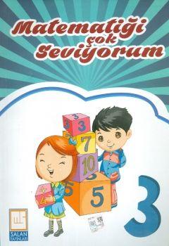 Salan Yayınları 3. Sınıf Matematiği Çok Seviyorum 2 Kitap