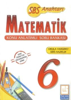 Salan Yayınları 6. Sınıf Matematik Konu Anlatımlı Soru Bankası