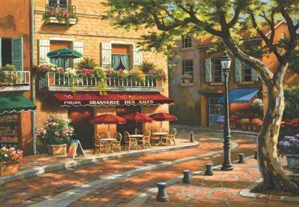 Sanat Kahvesi  Brasserie Des Arts 500 Parça Puzzle - Yapboz