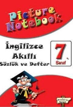 Sargın Yayınları 7. Sınıf İngilizce Picture Notebook Sözlük ve Akıllı Defter