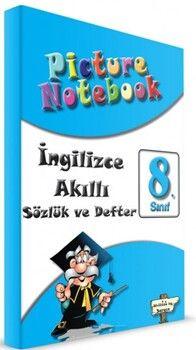 Sargın Yayınları 8. Sınıf İngilizce Picture Notebook Sözlük ve Akıllı Defter