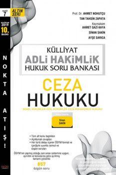 Savaş Yayınları Külliyat Adli Hakimlik Ceza Hukuku Hukuk Soru Bankası