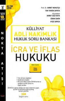 Savaş Yayınları Külliyat Adli Hakimlik İcra ve İflas Hukuku Hukuk Soru Bankası