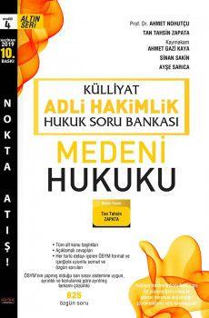 Savaş Yayınları Külliyat Adli Hakimlik Medeni Hukuku Hukuk Soru Bankası