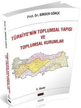 Savaş Yayınları Türkiyenin Toplumsal Yapısı ve Toplumsal Kurumlar