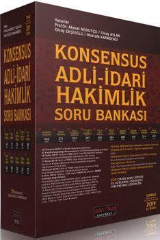 Savaş Yayınları Konsensus Adli İdari Hakimlik Soru Bankası