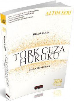 Savaş Yayınları Türk Ceza Hukuku Genel Hükümler