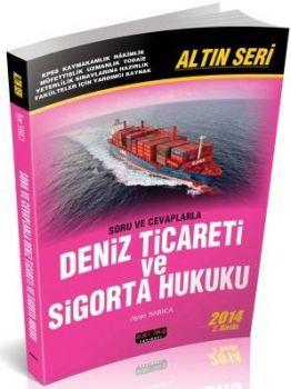 Savaş Yayınları Deniz Ticareti ve Sigorta Hukuku Soru ve Cevaplarla Altın Seri Ayşe Sarı