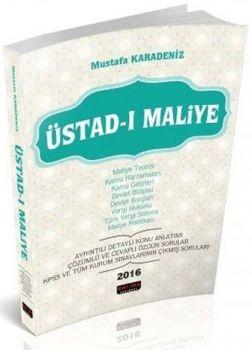 Savaş Yayınları KPSS A 2016 ÜSTAD-I Maliye Mustafa Karadeniz