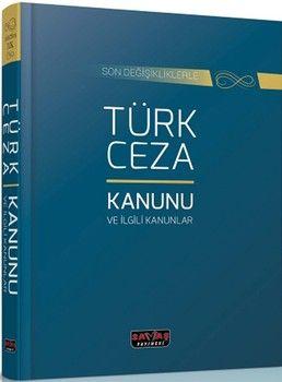 Savaş Yayınları Türk Ceza Kanunu ve İlgili Kanunlar