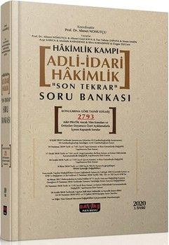 Savaş Yayınları Hakimlik Kampı Adli İdari Hakimlik Son Tekrar Soru Bankası