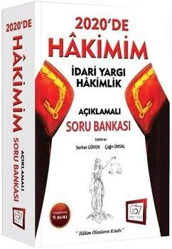 Savaş Yayınları HAKİMİM İdari Yargı Hakimlik Açıklamalı Soru Bankası