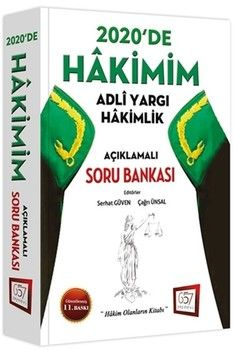 Savaş Yayınları HAKİMİM Adli Yargı Hakimlik Açıklamalı Soru Bankası