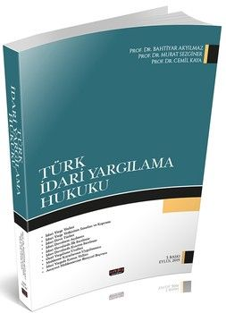 Savaş Yayınları Türk İdari Yargılama Hukuku