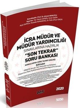 Savaş Yayınları 2020 İcra Müdür ve Müdür Yardımcılığı Son Tekrar Soru Bankası
