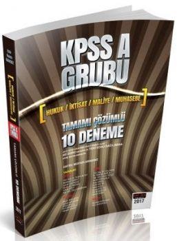 Savaş Yayınları 2017 KPSS A Grubu Tamamı Çözümlü 10 Deneme