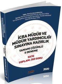 Savaş Yayınları İcra Müdür ve Müdür Yardımcılığı Sınavlarına Hazırlık 5 Deneme