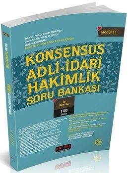 Savaş Yayınları KONSENSUS Adli İdari Hakimlik İş Hukuku Soru Bankası