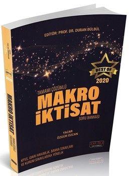 Savaş Yayınları BEST OF Makro İktisat Tamamı Çözümlü Soru Bakası