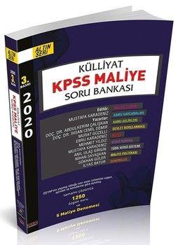 Savaş Yayınları 2020 KPSS Maliye Külliyat Soru Bankası