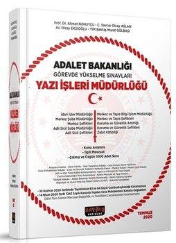 Savaş Yayınları Adalet Bakanlığı Görevde Yükselme Sınavları Yazı İşleri Müdürlüğü Konu Anlatımı ve 1000 Soru