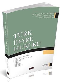 Savaş Yayınları Türk İdare Hukuku