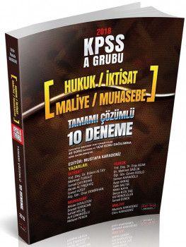 Savaş Yayınları 2018 KPSS A Grubu 40 Soruluk Tamamı Çözümlü 10 Deneme