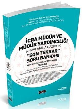 Savaş Yayınları İcra Müdür ve Müdür Yardımcılığı Son Tekrar Soru Bankası