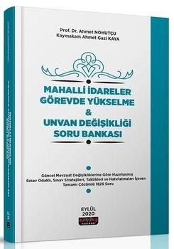 Savaş Yayınları Mahalli İdareler Görevde Yükselme ve Unvan Değişikliği Soru Bankası