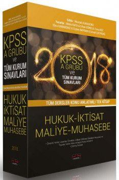 Savaş Yayınları 2018 KPSS A Grubu ve Tüm Kurum Sınavları Tüm Dersler Hukuk İktisat Maliye Muhasebe Konu Anlatımlı Tek Kitap