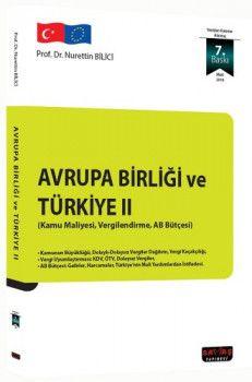 Savaş Yayınları Avrupa Birliği ve Türkiye II