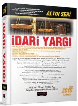 Savaş Yayınları İdari Yargı Altın Seri 17. Baskı