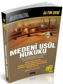 Savaş Yayınları Medeni Usül Hukuku Altın Seri