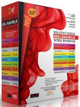 Savaş Yayınları 2017 KÜLLİYAT Adli Hakimlik Modüler Soru Bankası Seti