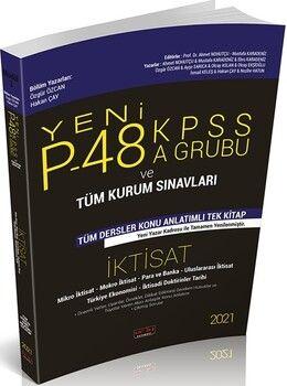 Savaş Yayınları2021P48 KPSS A Grubu ve Tüm Kurum Sınavları İktisat Konu Anlatımlı
