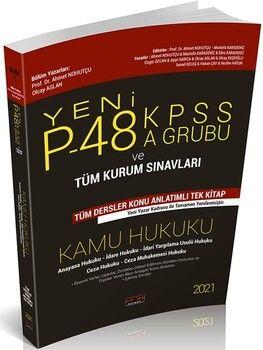 Savaş Yayınları2021P48 KPSS A Grubu ve Tüm Kurum Sınavları Kamu Hukuku Konu Anlatımlı