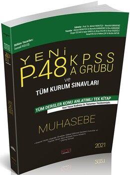 Savaş Yayınları2021P48 KPSS A Grubu ve Tüm Kurum Sınavları Muhasebe Konu Anlatımlı