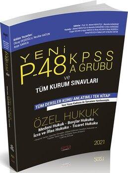Savaş Yayınları2021P48 KPSS A Grubu ve Tüm Kurum Sınavları Özel Hukuk Konu Anlatımlı
