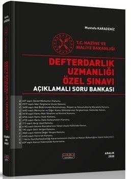 Savaş Yayınları Defterdarlık Uzmanlığı Özel Sınavı Açıklamalı Soru Bankası