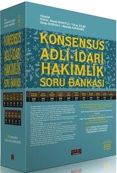 Savaş Yayınları KONSENSUS Adli İdari Hakimlik Soru Bankası Modüler Set