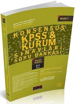 Savaş Yayınları 2021KPSS Borçlar Hukuku KONSENSUS Soru Bankası