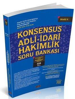 Savaş Yayınları KONSENSUS Adli İdari Hakimlik Soru Bankası Modül 4