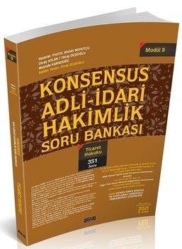 Savaş Yayınları KONSENSUS Adli İdari Hakimlik Ticaret Hukuku Soru Bankası Modül 9