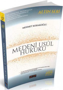 Savaş Yayınları Altın Seri Medeni Usul Hukuku