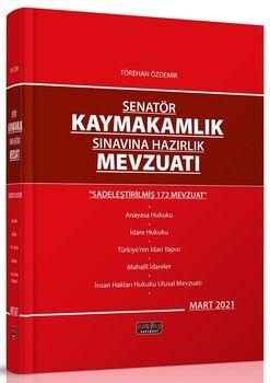 Savaş Yayınları Senatör Kaymakamlık Sınavına Hazırlık Mevzuatı