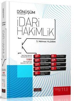 Savaş Yayınları Dönüşüm İdari Hakimlik Soru Bankası