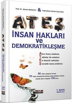 Savaş Yayınları ATEŞ İnsan Hakları ve Demokratikleşme Konu Anlatımlı